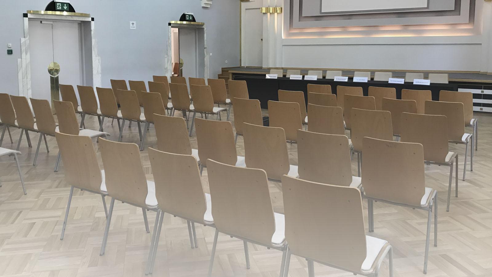 Sala Konferencyjna w Centrum Prasowym Foksal w Warszawie