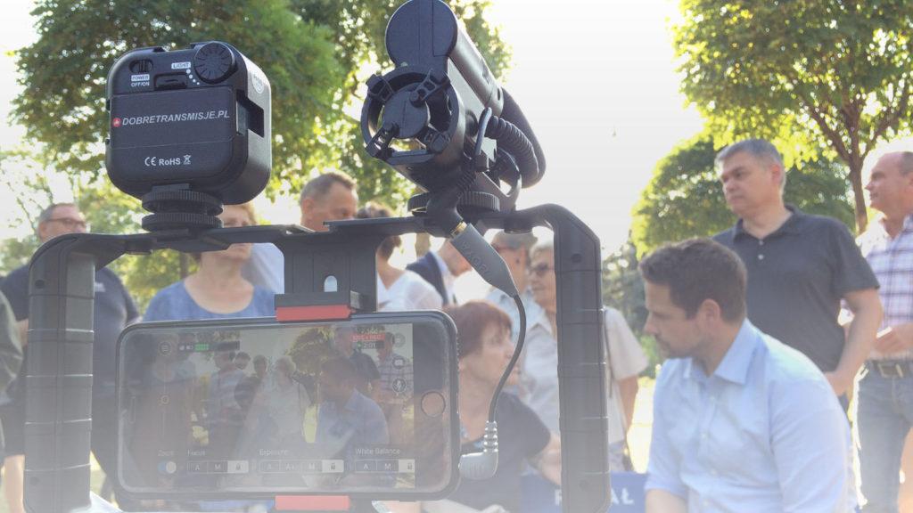 Transmisja online ekspresowa z wykorzystaniem osprzętu reporterskiego