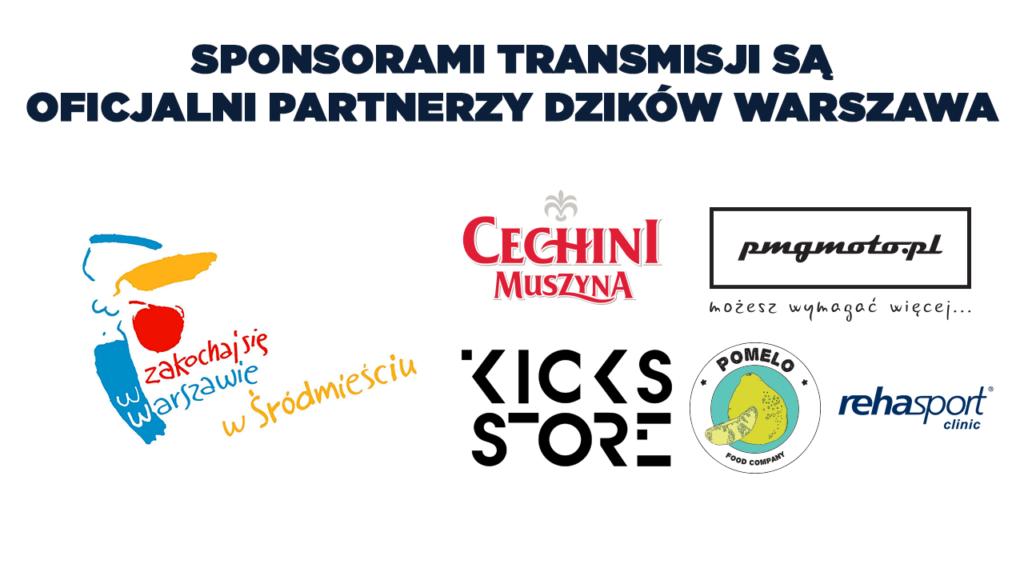 Plansza sponsorska Dzików Warszawa
