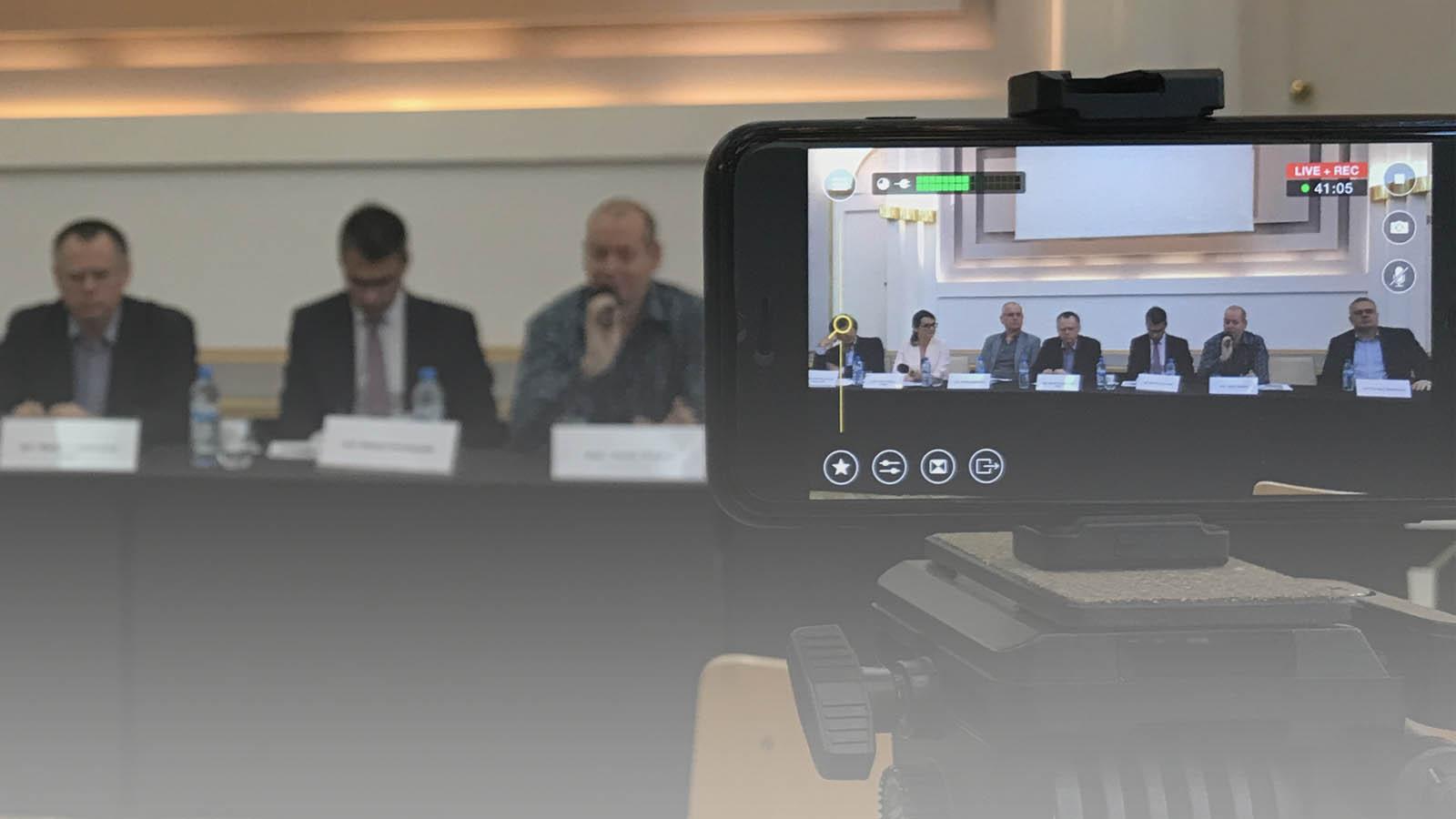 Transmisja online z konferencji w Centrum Prasowym Foksal