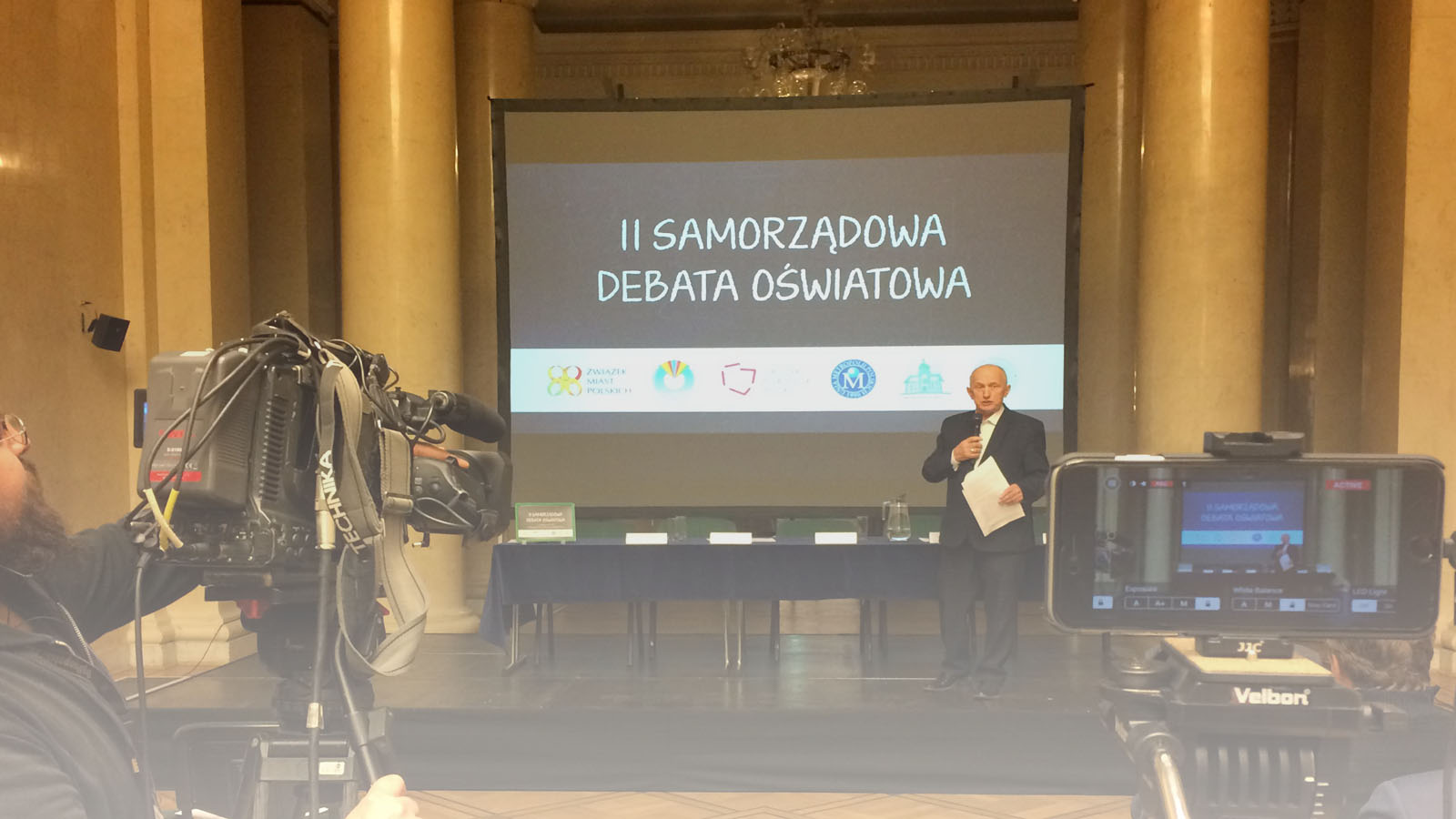 Transmisja z Samorządowej Debaty Oświatowej